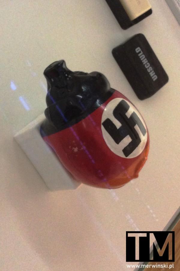 Eksponat nazistowski w muzeum w Norymberdze