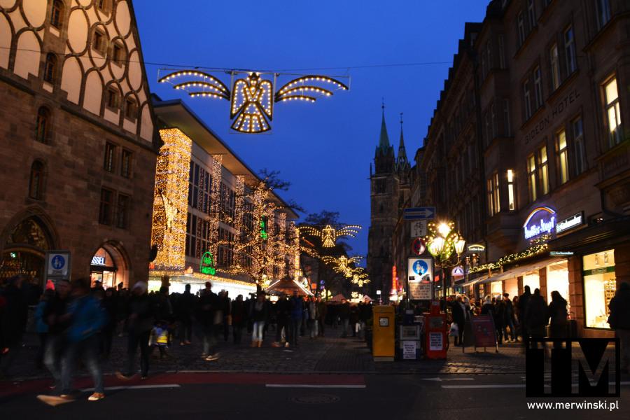 Jarmark bożonarodzeniowy w niemieckiej Norymberdze