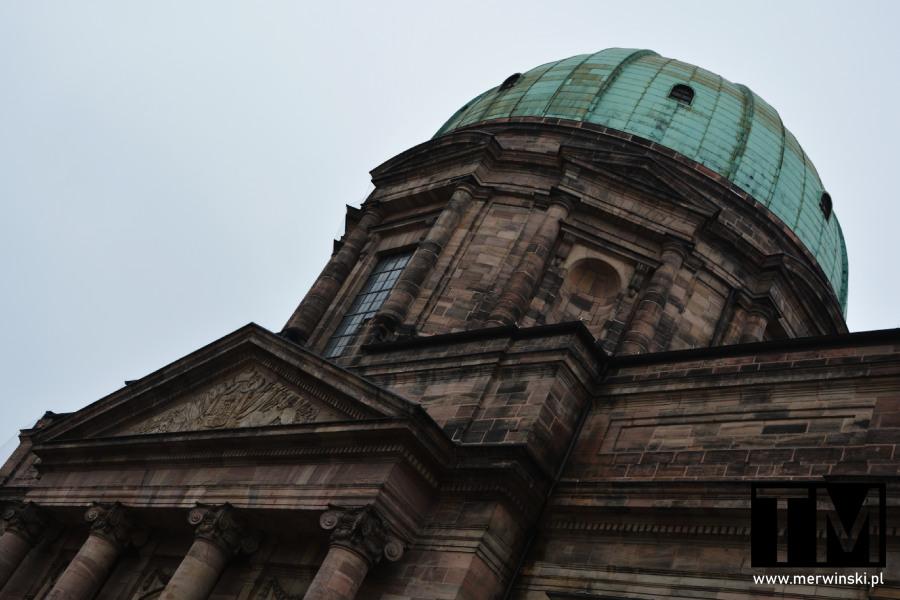 Fragment kościoła św. Elżbiety, Norymberga, Bawaria, Niemcy
