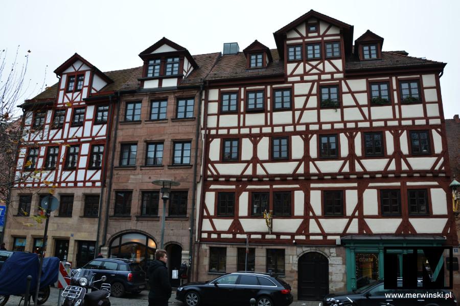 Zabytkowe zabudowania miasta Norymberga