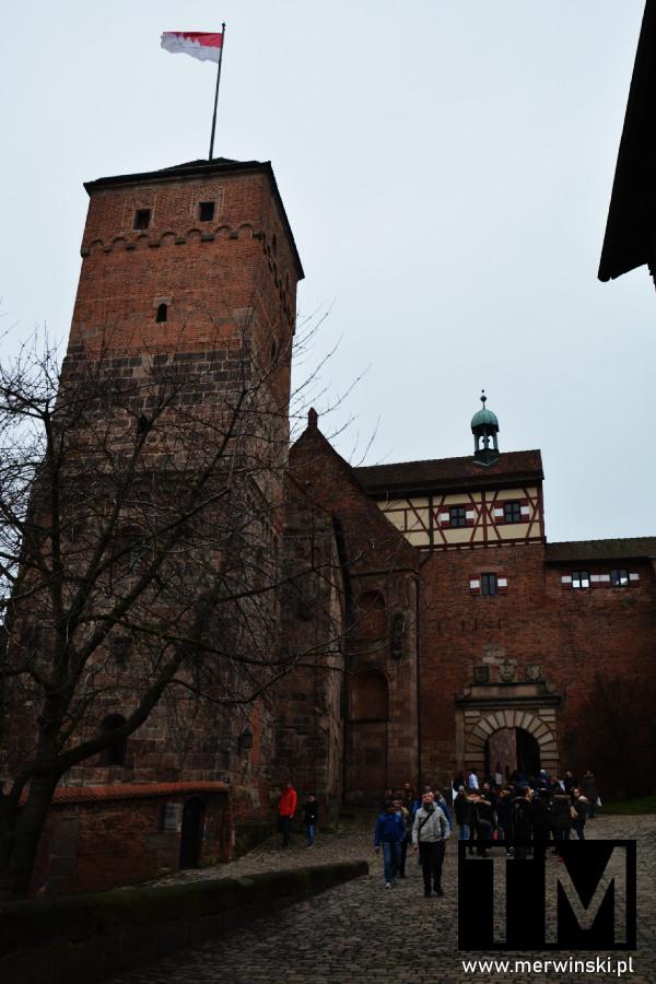 Wieża i brama do zamku norymberskiego