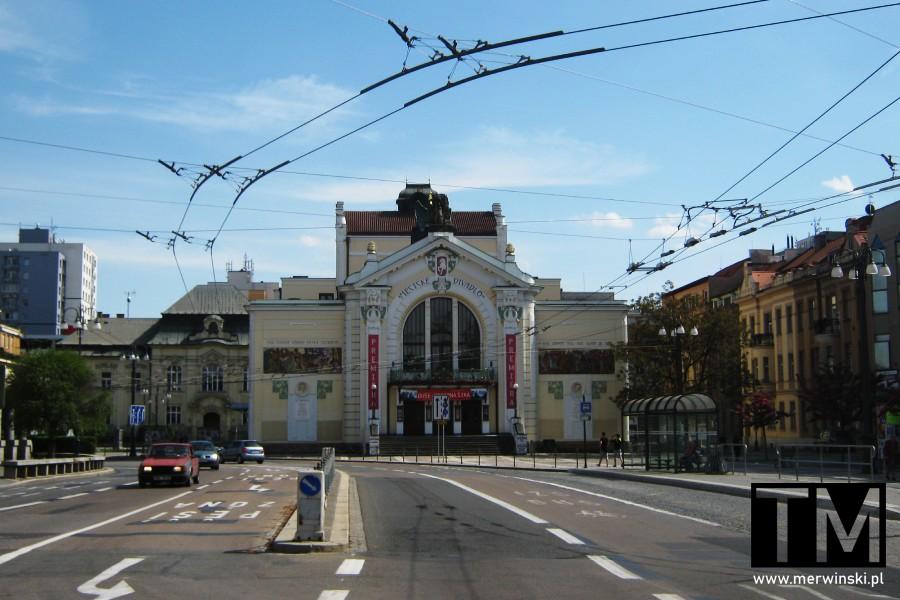 Budynek Teatru Wschodnioczeskiego w Pardubicach