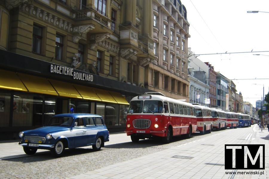 Zabytkowe autobusy w Czechach