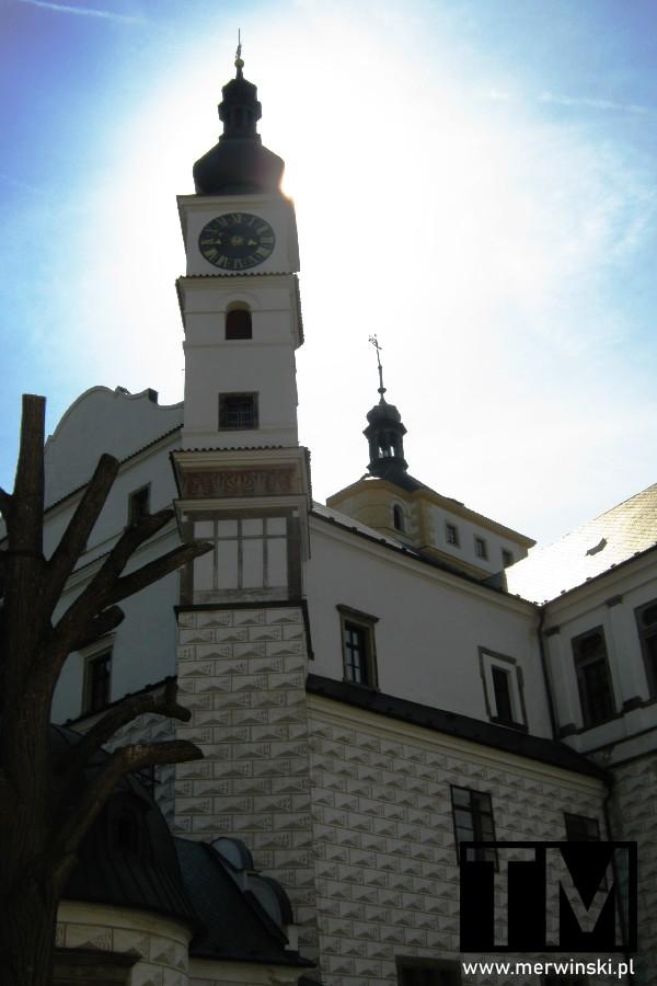 Wieża i pałac w Pardubicach