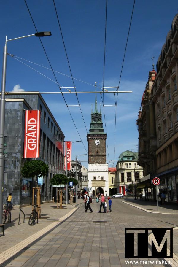 Wieża zwana Zieloną Bramą w Czechach