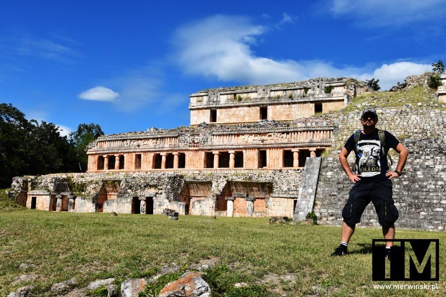 Ruiny pałacu na Jukatanie