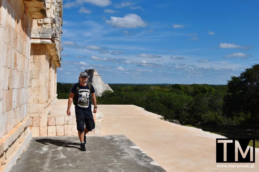 Pałac Gubernatora i Piramida Czarownika w Uxmal