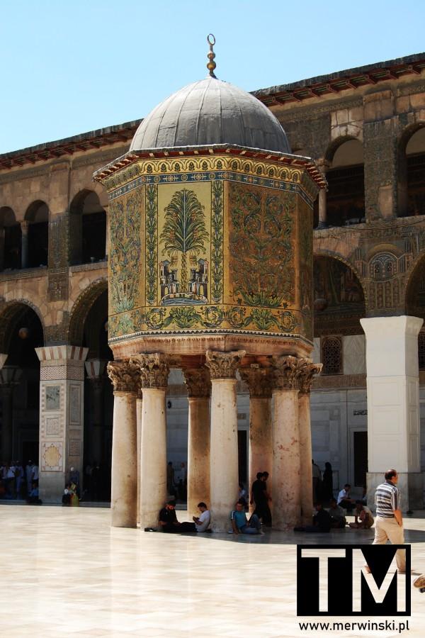 Kopuła Skarbu w Meczecie Umajjadów