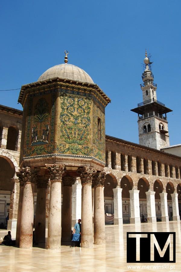 Kopuła Skarbu w Meczecie Umajjadów w Syrii