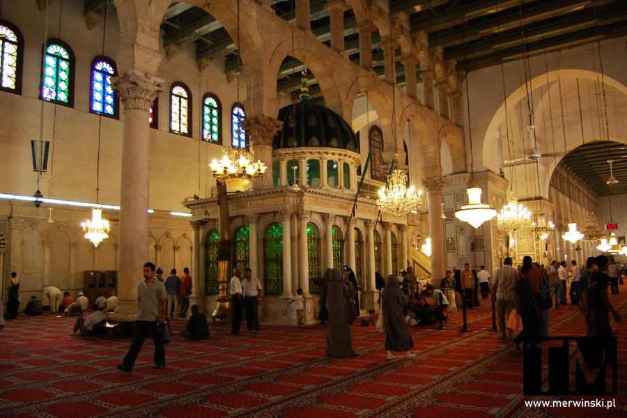 Relikwie Jana Chrzciciela w Damaszku