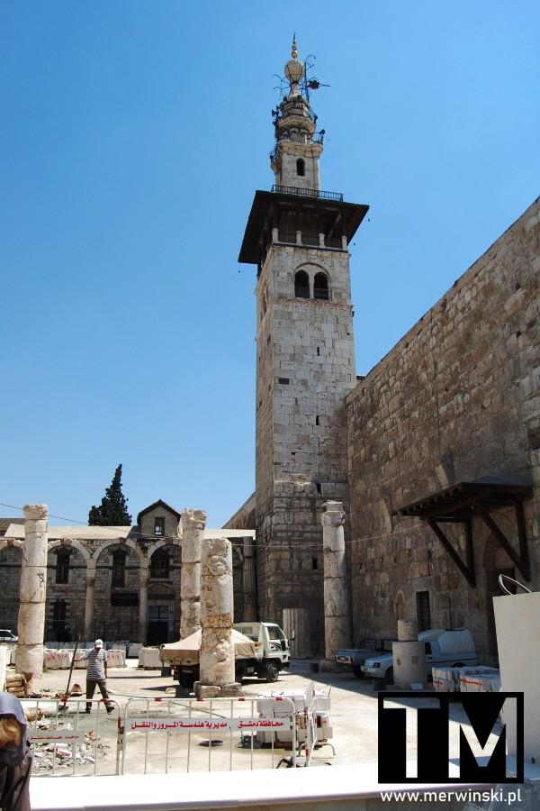 Minaret Panny Młodej w Damaszku