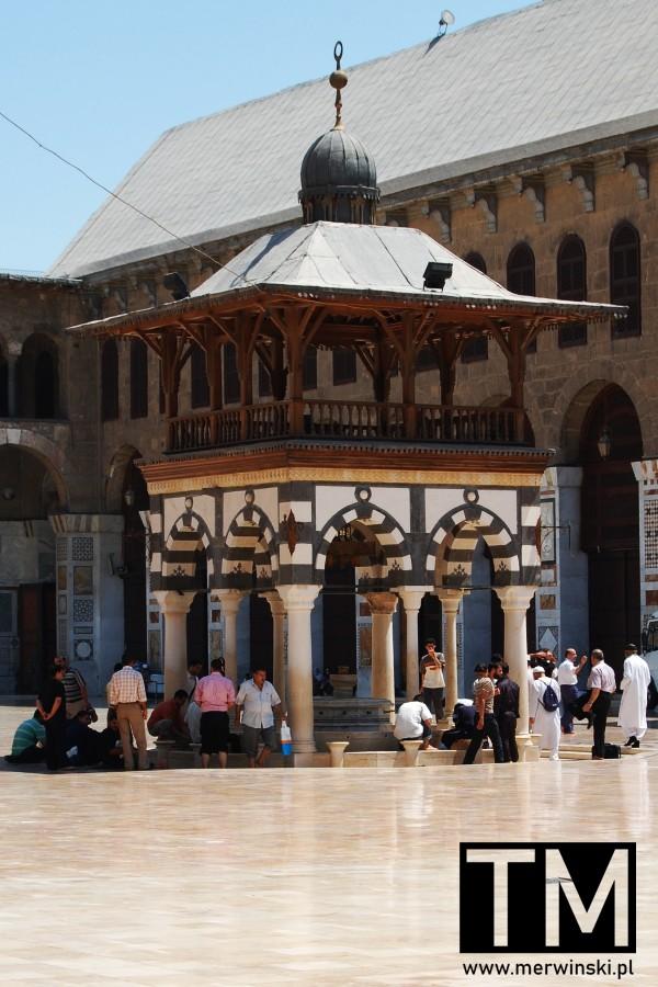 Studnia ablucyjna w Damaszku w Syrii