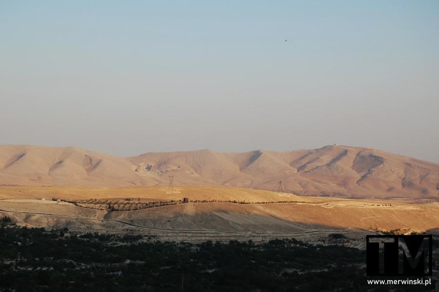 Góry widziane z Maalouli
