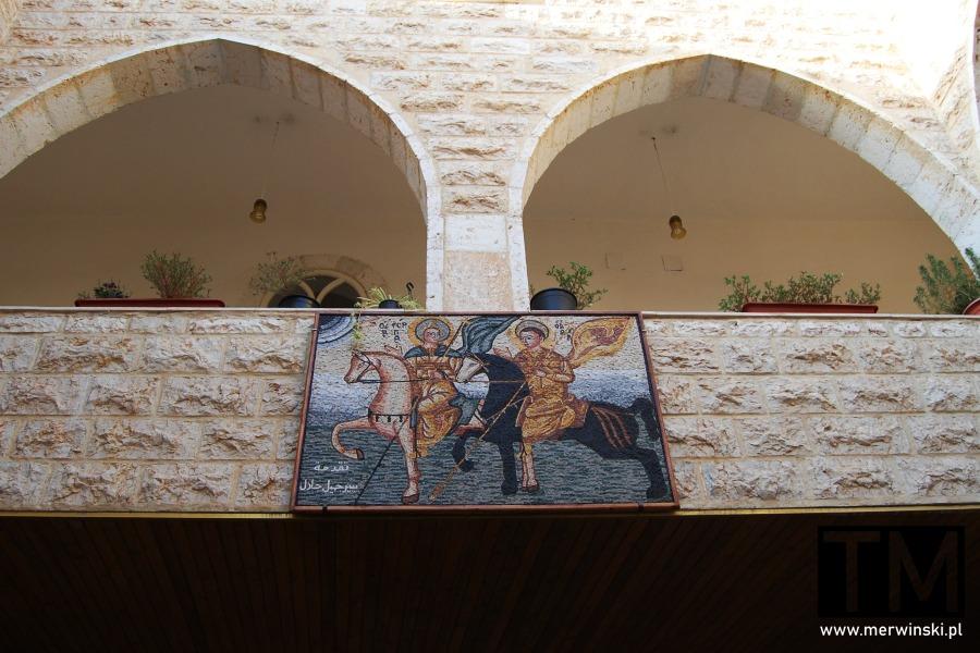 Obraz ze świętymi w Maalouli
