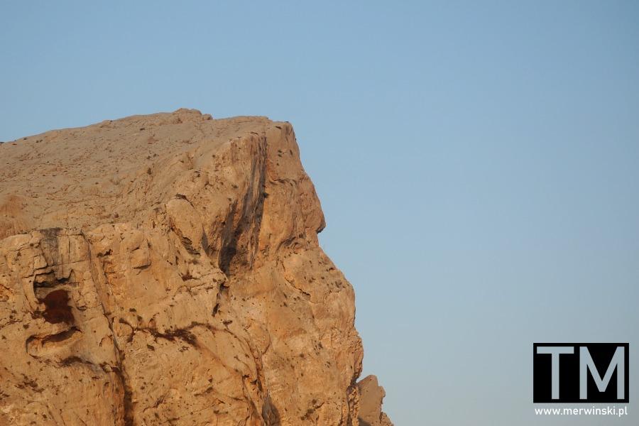 Ściana skalna w Maalouli