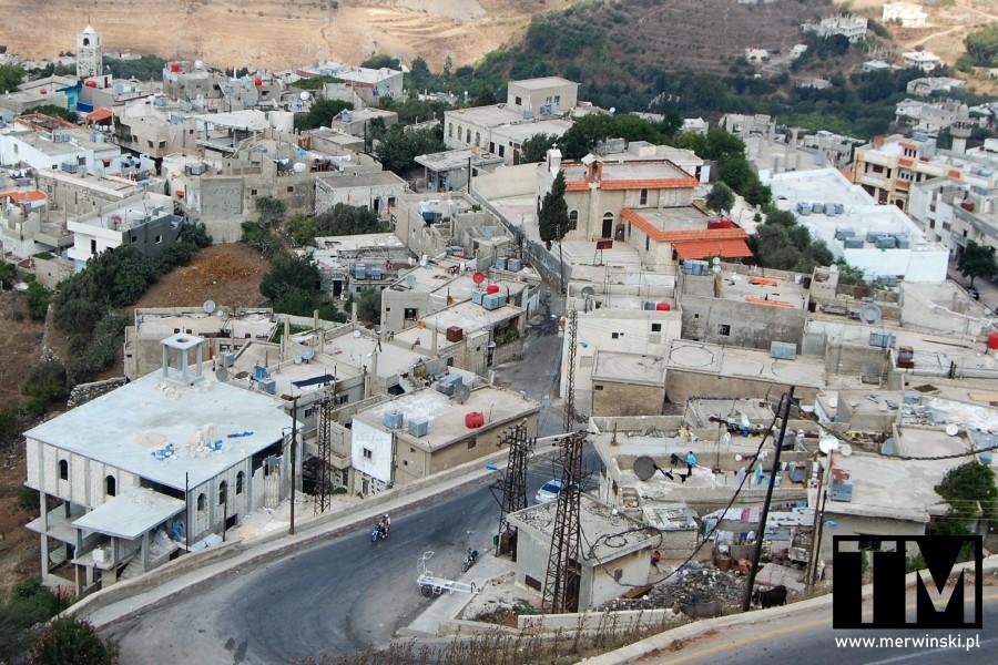 Al Husn, miejscowość u podnóży Krak des Chevaliers