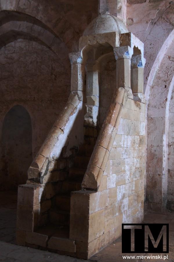 Kaplica zamkowa w Krak des Chevaliers