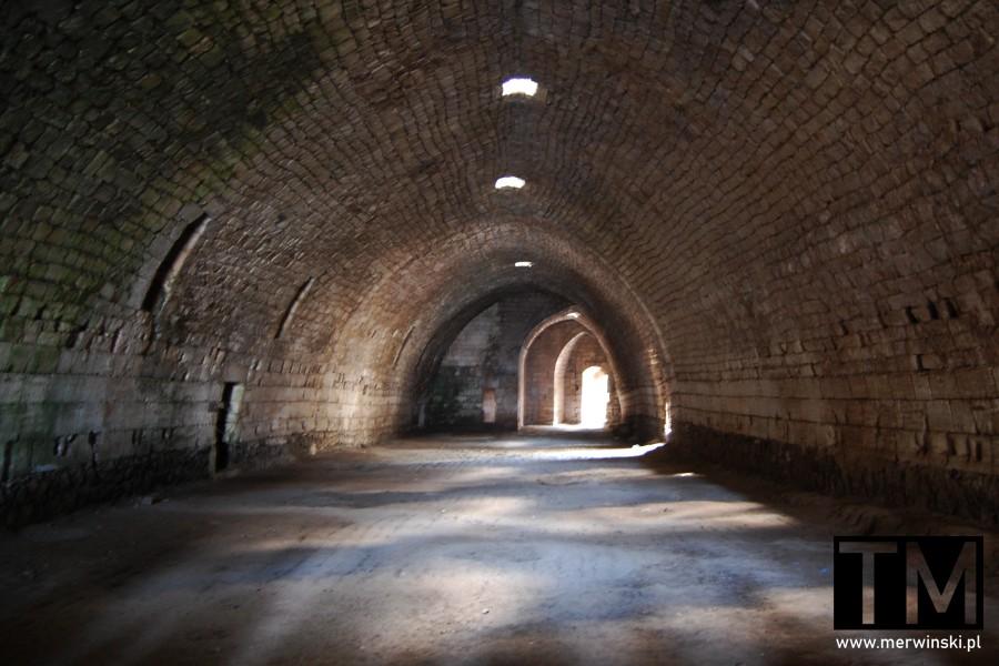 Pomieszczenie na terenie zamku Krak des Chevaliers