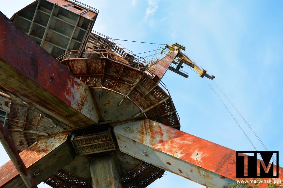 Zardzewiały żuraw portowy, Czarnobyl