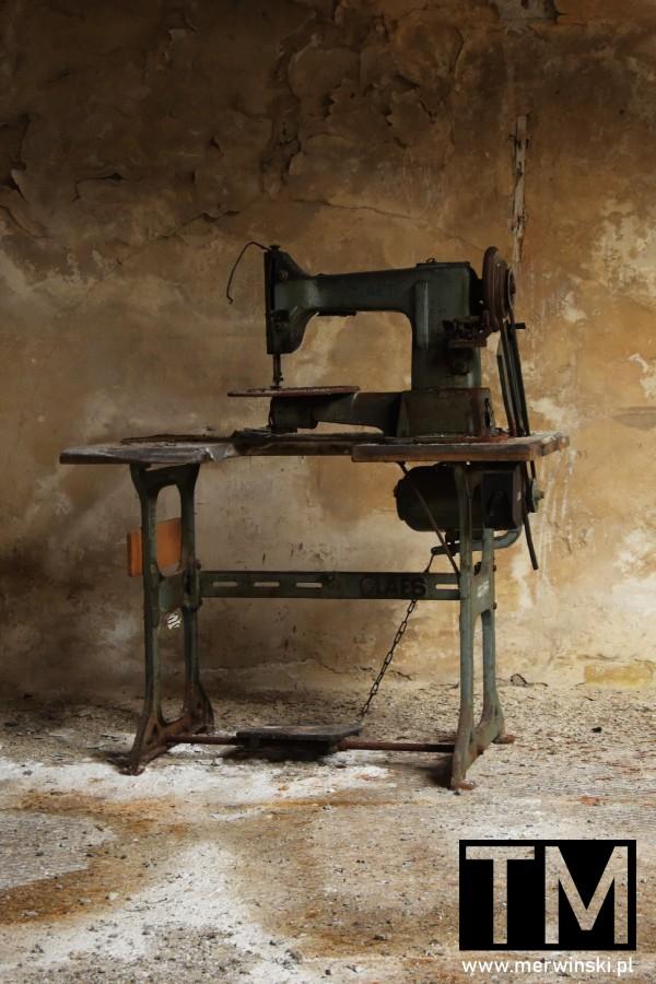 Stara maszyna w Młynie Sułkowice