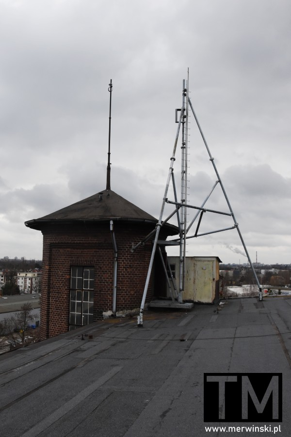Na dachu Młynu Sułkowice we Wrocławiu