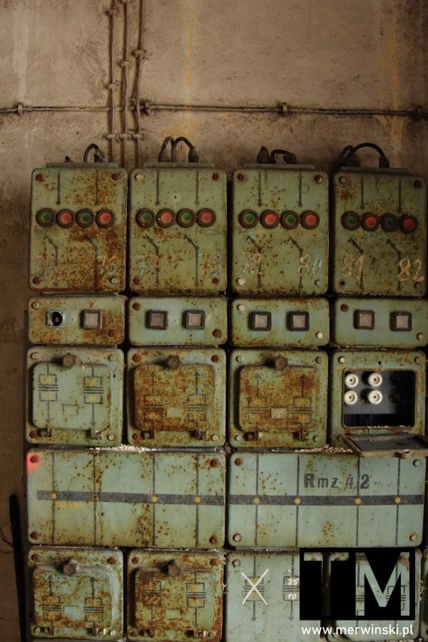 Rozdzielnia elektryczna we wrocławskim Młynie Sułkowice