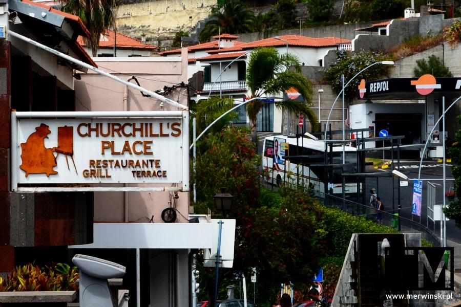 Churchill's Place - restauracja w Câmara de Lobos na Maderze
