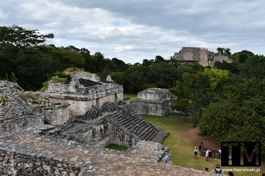 Strefa archeologiczna Ek Balam na Jukatanie
