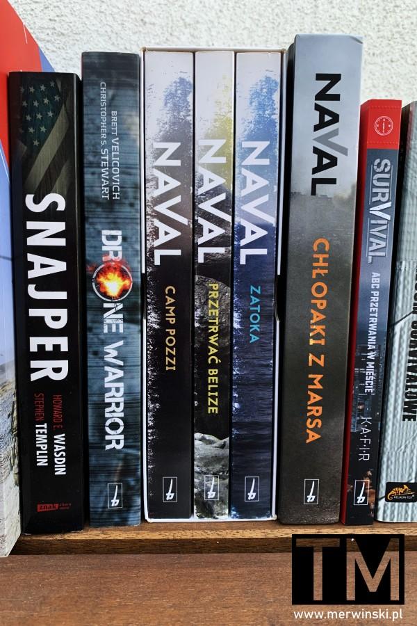 Naval - seria książek wojskowych o JW GROM i inne książki militarne