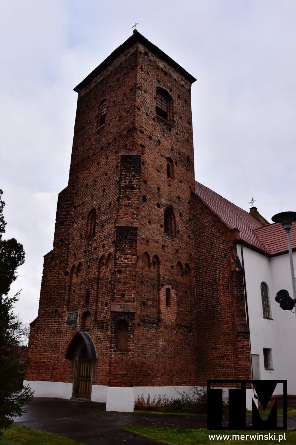 Kościół w Sośnicy obok Kątów Wrocławskich