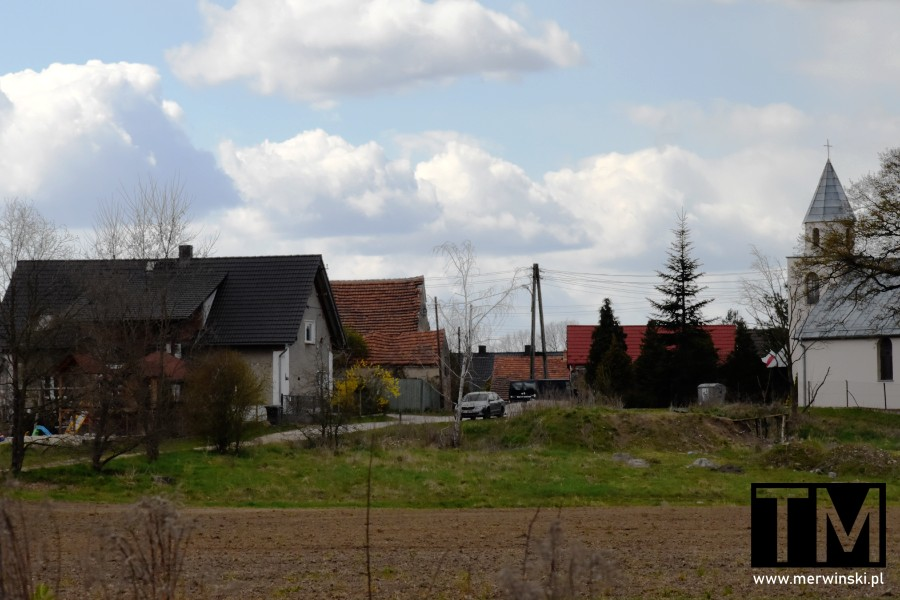 Wieś Stary Górnik na Dolnym Śląsku