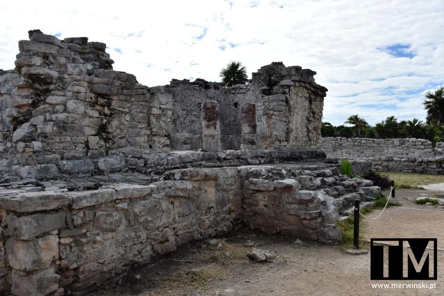 Dom Chultuna w strefie archeologicznej w Tulum