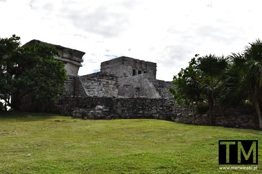 Świątynia Zamek w Tulum na Jukatanie