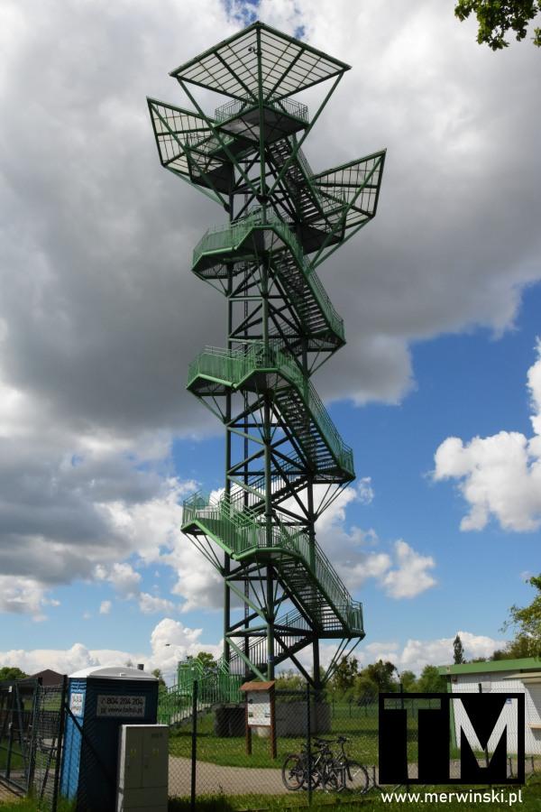 Wieża widokowa w Kotowicach na Dolnym Śląsku