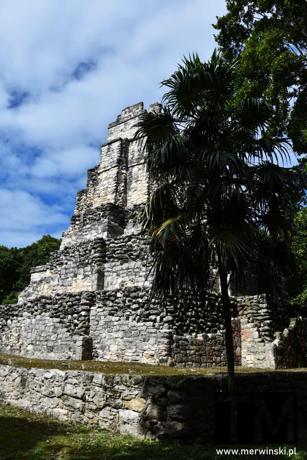 El Castillo - piramida w Muyil