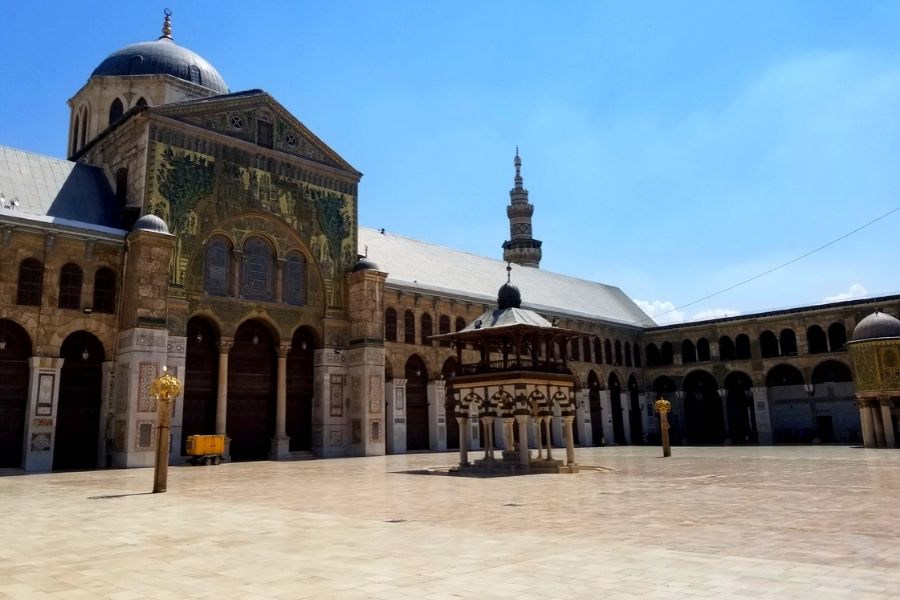 Meczet Umajjadów w Damaszku w Syrii