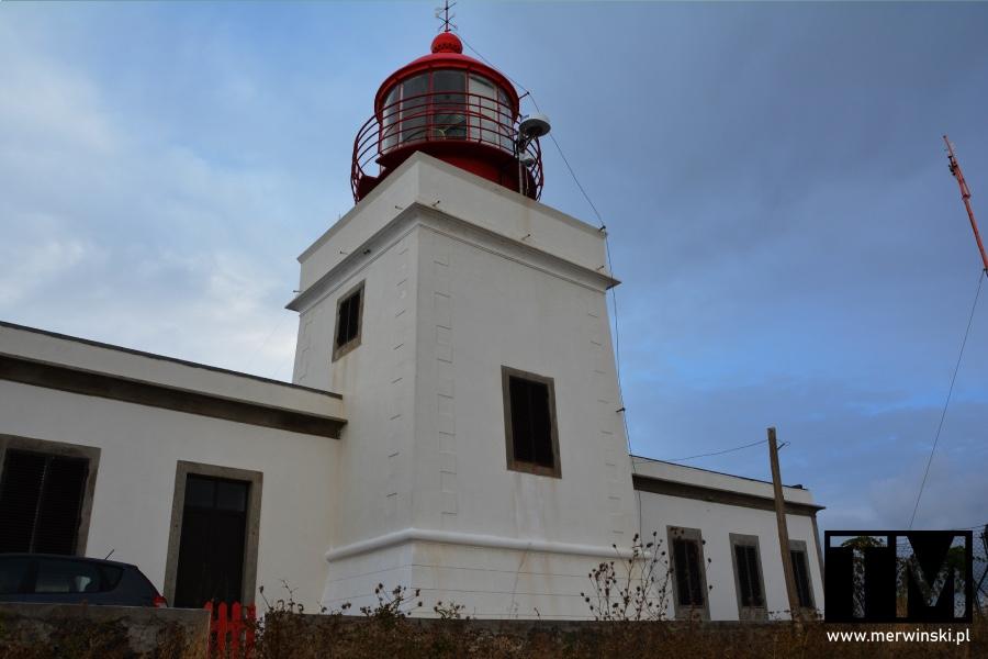 Latarnia morska na Ponta do Pargo na Maderze