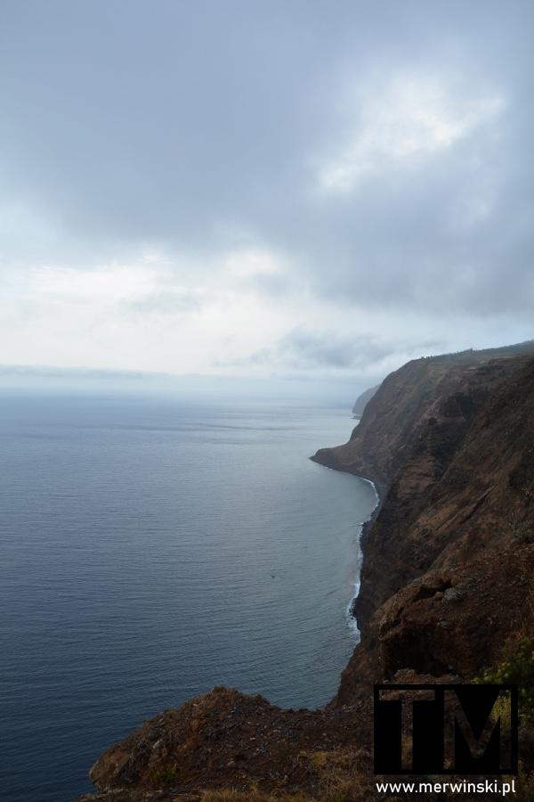 Zachodnie wybrzeże Madery