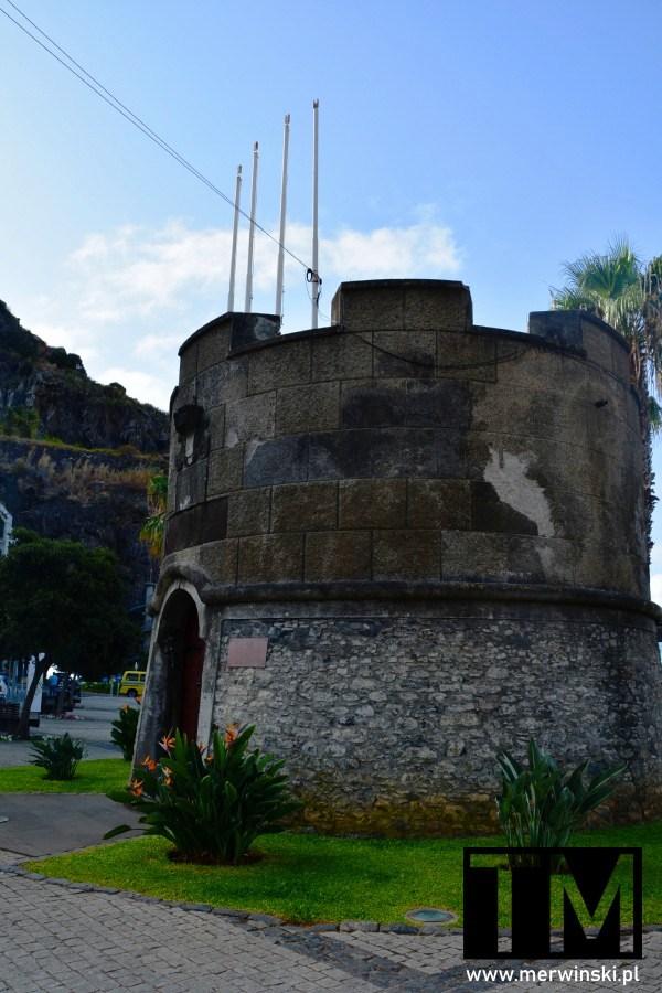 Fort Świętego Benedykta w Ribeira Brava, Madera