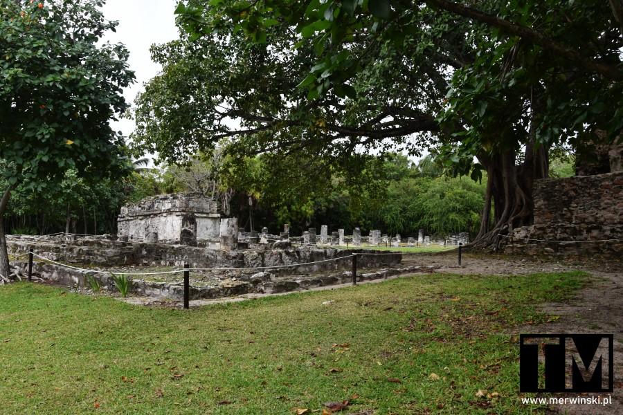 Ruiny El Meco niedaleko Cancún