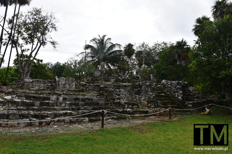 Zabytki w okolicy Cancún, El Meco