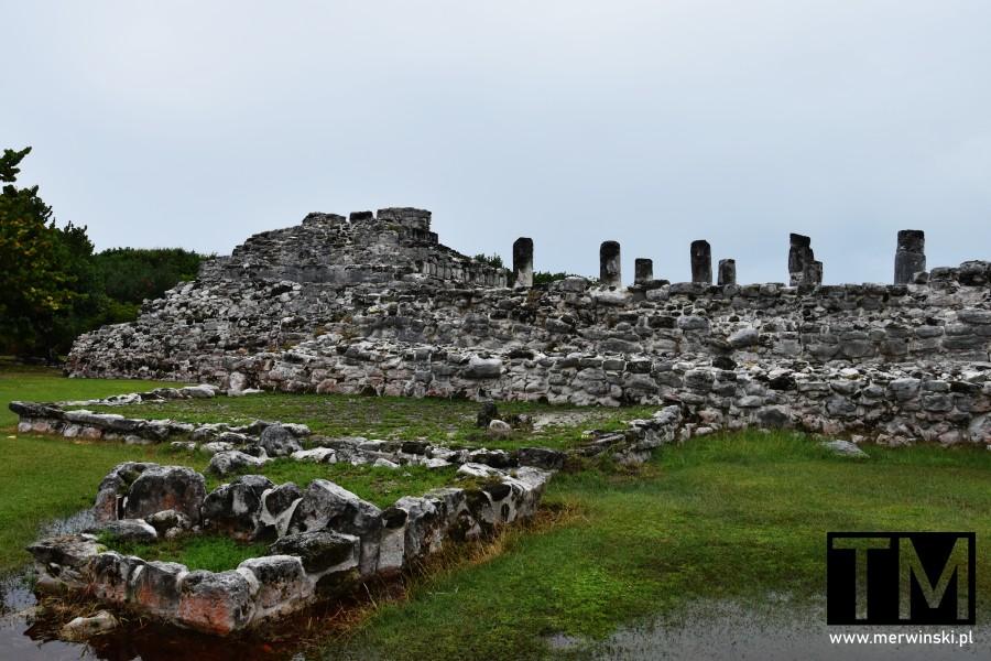 Majańskie ruiny w Cancún