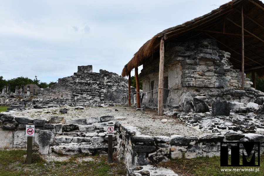 Cancún - strefa archeologiczna El Rey