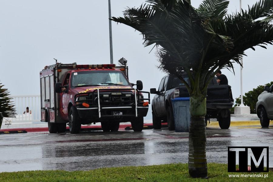 Straż pożarna na Jukatanie w Meksyku