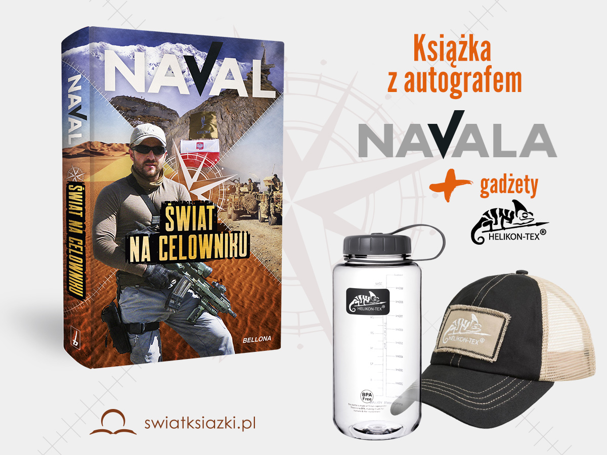 Konkurs z książką Navala i gadżetami Helikon-Tex do wygrania