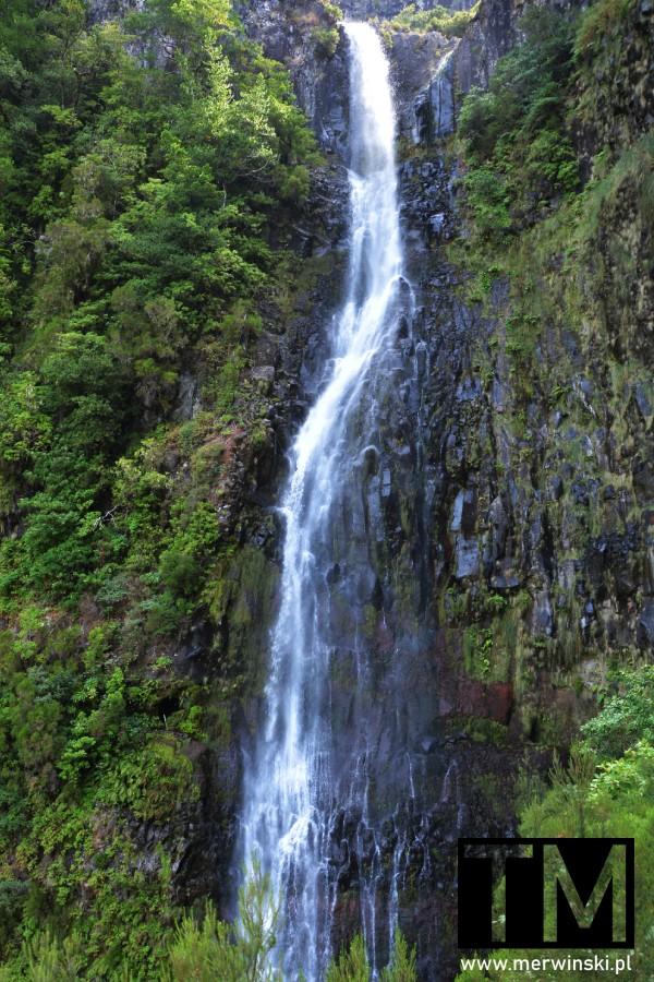 Widok na Wodospad Risco