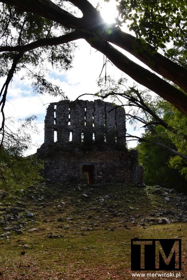 Ruiny El Mirador w Sayil w Meksyku