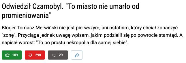 Tomasz Merwiński w Wirtualnej Polsce