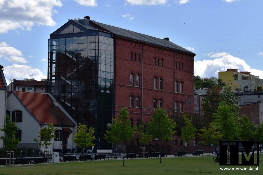 Budynek Galerii Sztuki Nowoczesnej w Bydgoszczy
