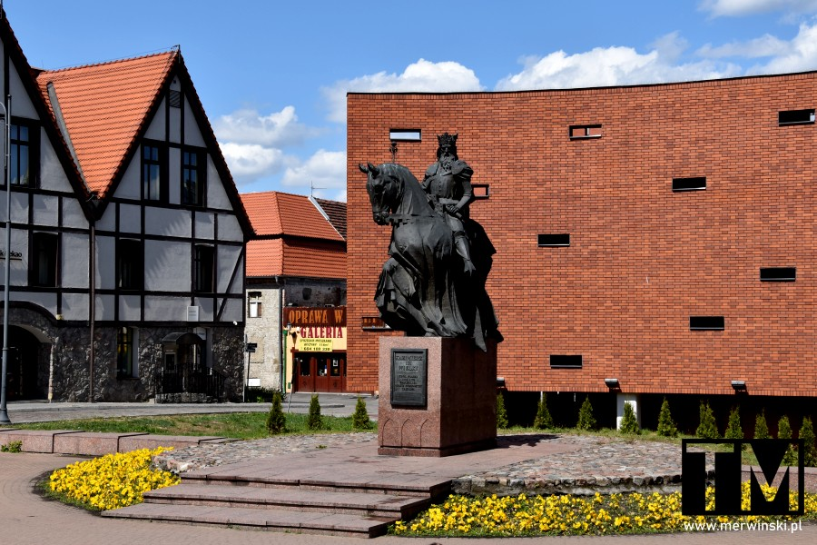 Rzeźba Kazimierza Wielkiego w Bydgoszczy